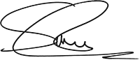 Simon Lane CEO Company Signature
